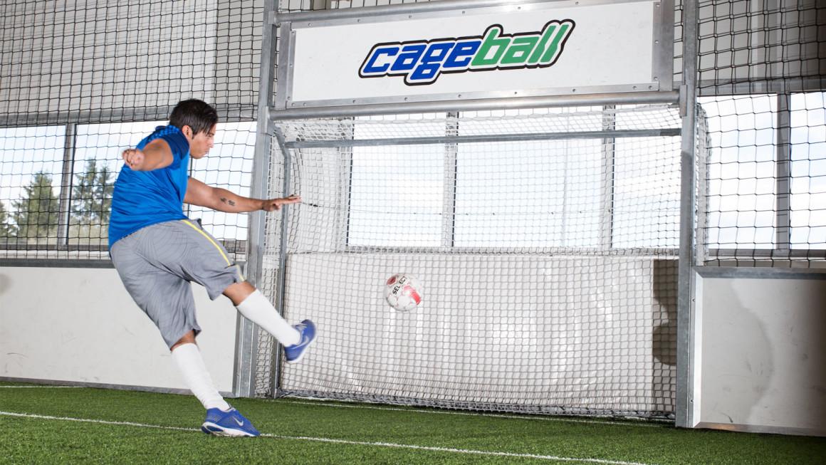 cageball fotball innendørsfotball