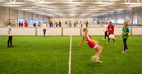 cageball innendørsfotball